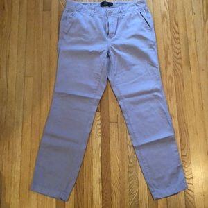 Jcrew lavender chino pants